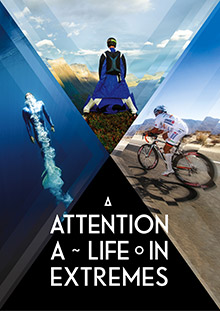 Filmplakat von ATTENTION - A LIFE IN EXTREMES