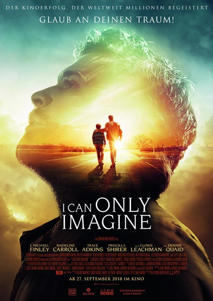 Filmplakat von I can only imagine